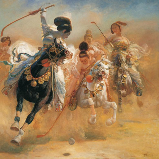 """""""The Game of Polo"""" 