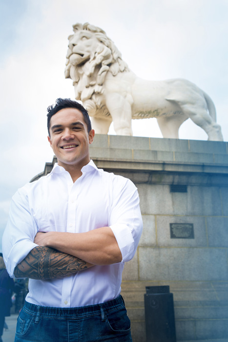 Nicholas Afoa joins the cast of Disney's The Lion King