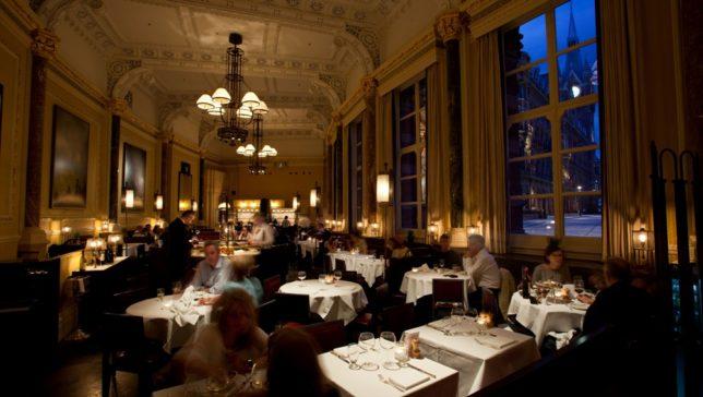 LR The Gilbert Scott Restaurant view