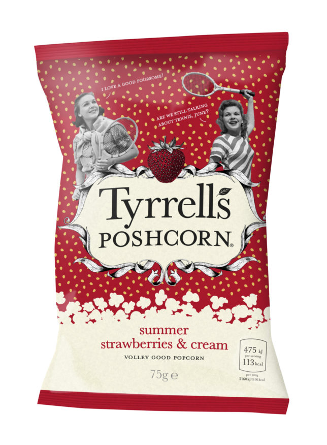 LR Tyrrells Strawberries & Cream