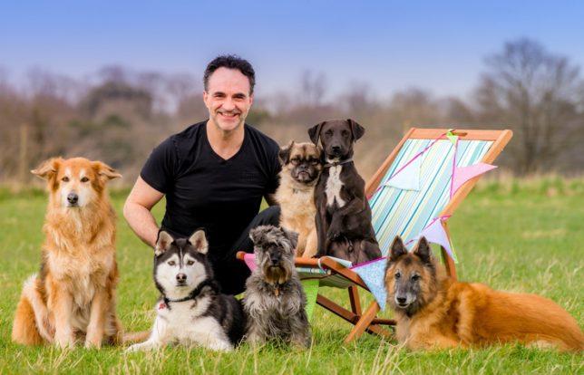 Supervet Noel Fitzpatrick for DogFest (Picture by Jim Holden)