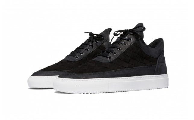 FP low top gradient woven sneakers