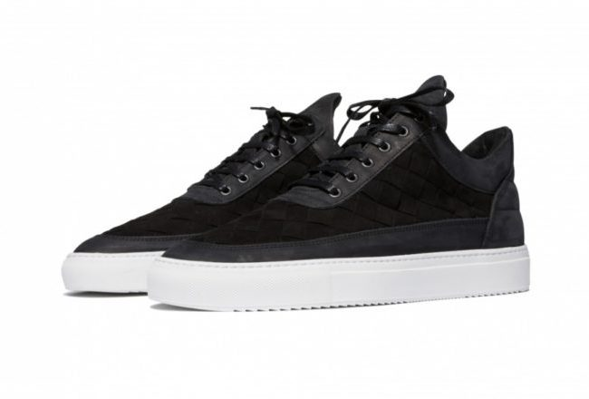 Filling Pieces Low Top Gradient Woven Sneakers