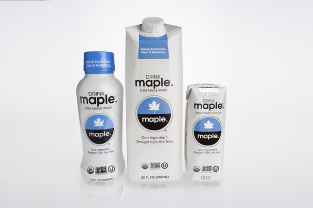 LR DRINKmaple product range
