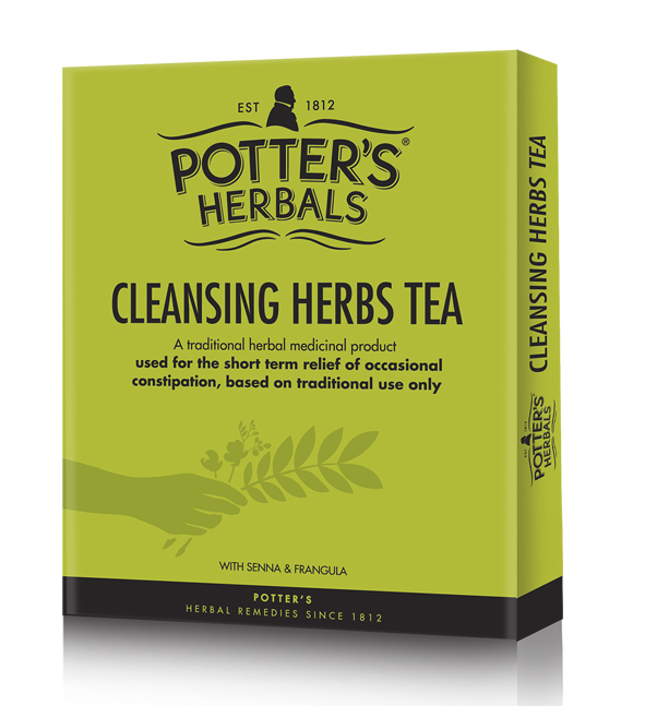 Potters Cleansing Herbs Tea