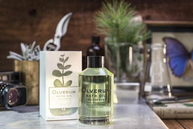 Olverum Bath Oil Lifestyle