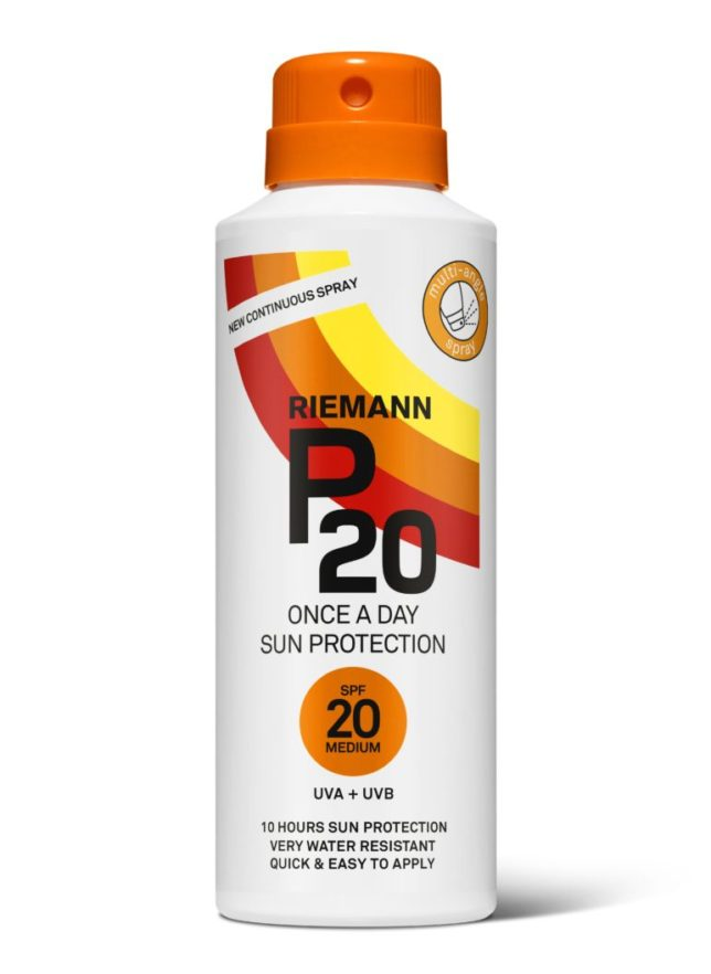 P20 SPF20 contnuous spray
