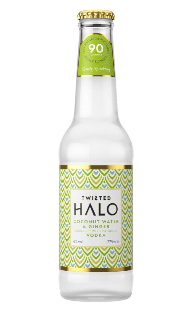 Twisted Halo Bottle PNG