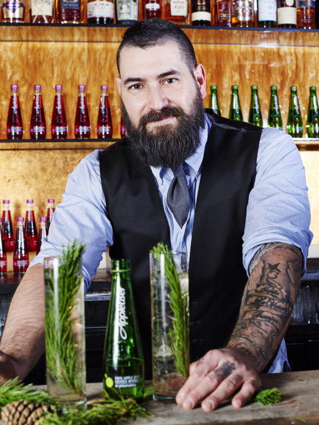 Richard Woods, award-winning mixologist and Appletiser Alchemist