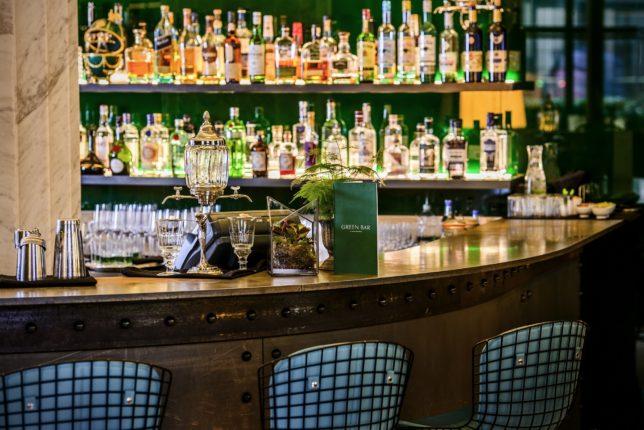 Hotel Cafe Royal - Green Bar2