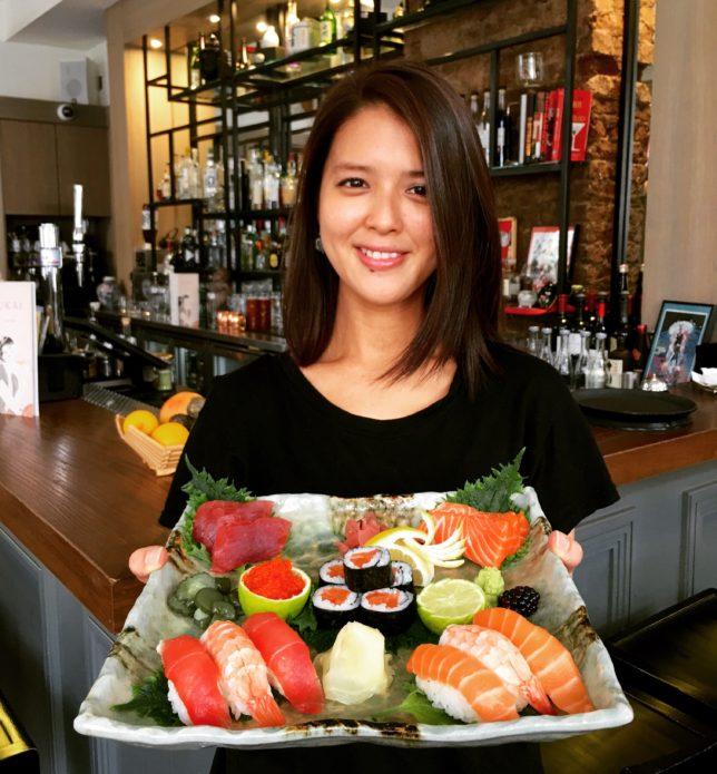 Ukai Portobello Road jumbo-sushi-platter