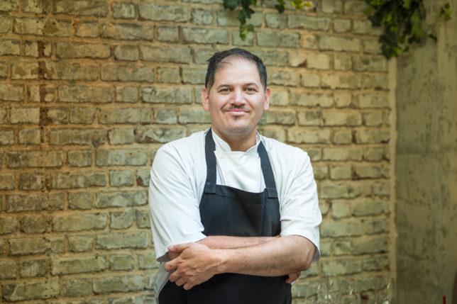 Executive Chef Eduardo Garcia