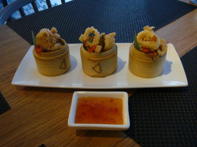 Chi Kitchen baby squid