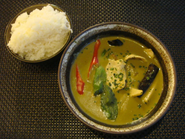 Chi Kitchen Thai Green Curry