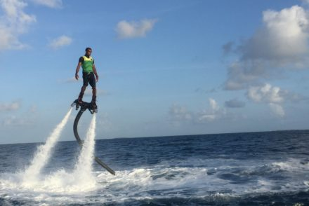 flyboard velaa private island