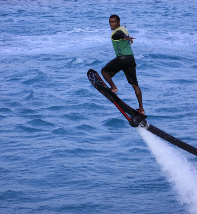 hoverboard velaa private island