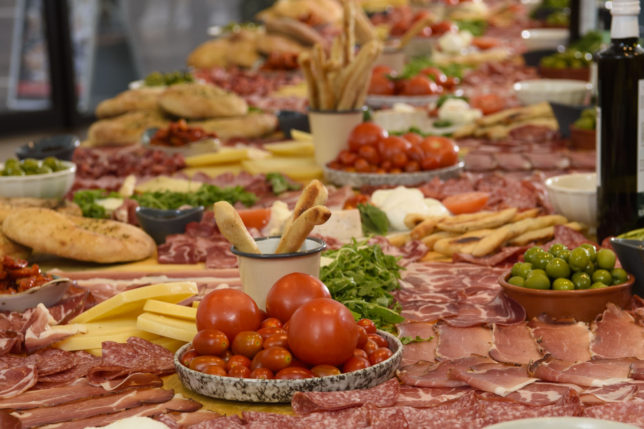 ASK Italian celebrated the launch of their autumn menu with Giantipasti World Record attempt