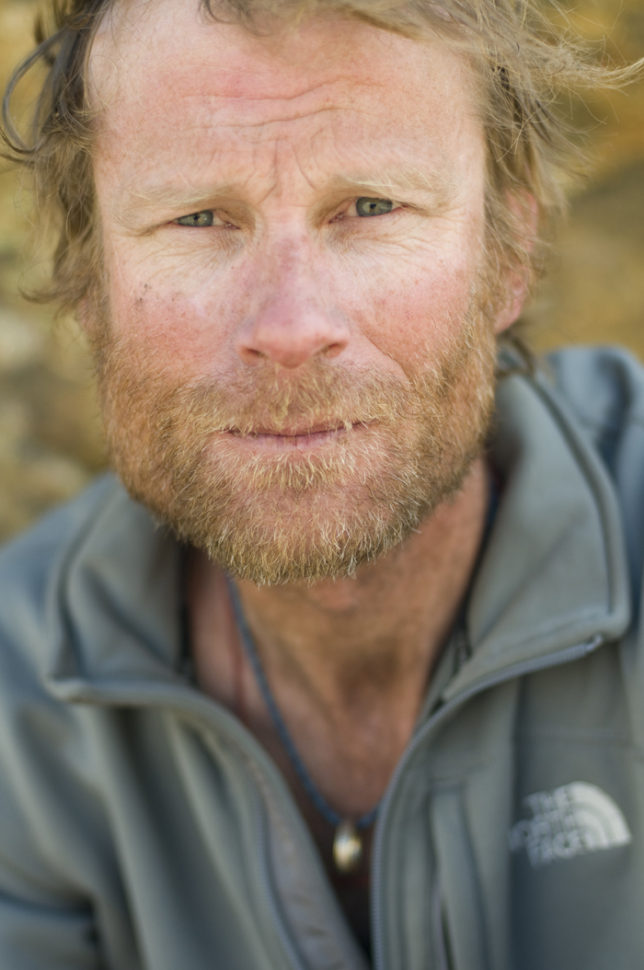 Conrad Anker during the Meru Expedition, Garwhal, India. Photo: Jimmy Chin