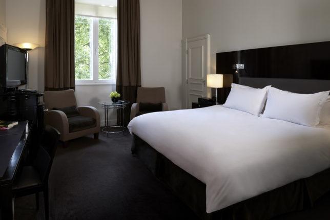 Sofitel St James bedrooms