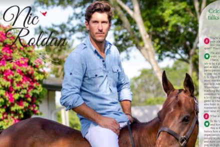 Nic Roldan, Polo Player, Brooke USA, Jeep UK,