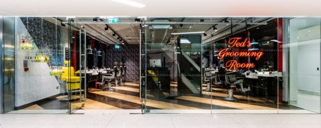 Ted S Grooming Room Canary Wharf Sloan Magazine