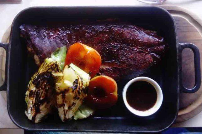 Suckling Pork Belly Bluebird Restaurant Chelsea Kings Road