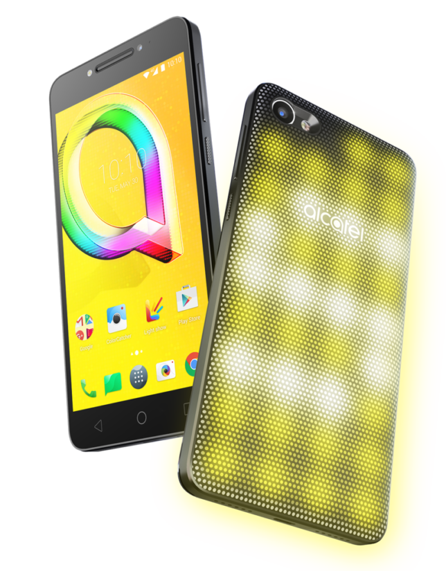 Light Up Your Life with Alcatel A5 LED - the Worlds First