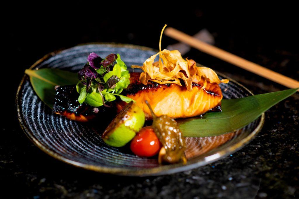 Ginza St. James's Teriyaki Salmon